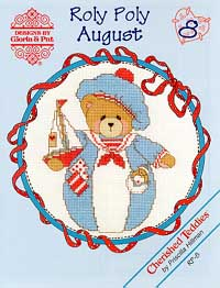 click here to view larger image of Roly Polys- August  (Cherished Teddies) (chart)