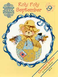 click here to view larger image of Roly Polys- September (Cherished Teddies) (chart)