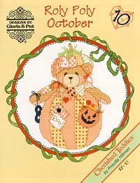 click here to view larger image of Roly Polys-October (Cherished Teddies) (chart)
