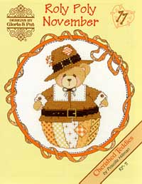 click here to view larger image of Roly Polys- November (Cherished Teddies) (chart)