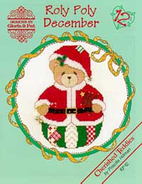 click here to view larger image of Roly Polys-December  (Cherished Teddies) (chart)