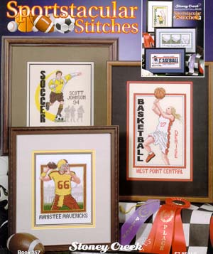 click here to view larger image of Sportstacular Stitches  (book)