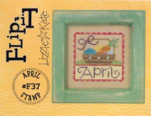click here to view larger image of Flip-It Stamp April (chart)