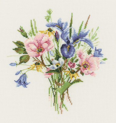 click here to view larger image of Wild Flower Posy (chart)