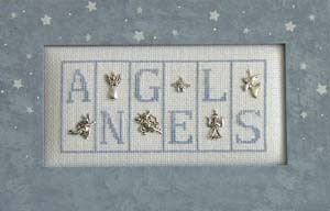 click here to view larger image of Angels Mini Blocks (chart with charms/buttons)
