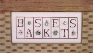 click here to view larger image of Baskets - Mini Blocks (chart with charms/buttons)