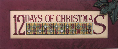 click here to view larger image of 12 Days of Christmas - (Charmed Sampler) (chart)