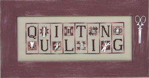 click here to view larger image of Quilting - Mini blocks (chart with charms/buttons)