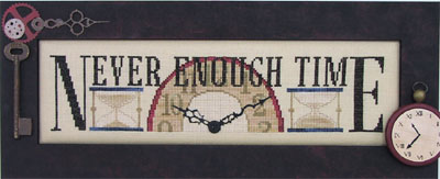 click here to view larger image of Never Enough Time - Charmed Sampler (chart with charms/buttons)