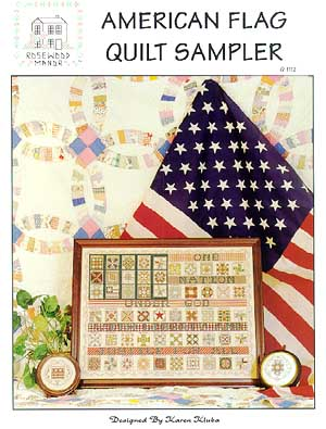 click here to view larger image of American Flag Quilt Sampler (chart)