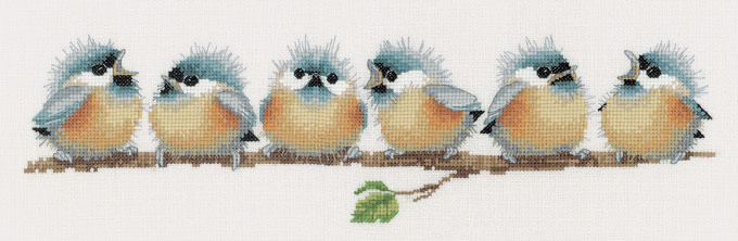 click here to view larger image of Chorus Line (counted cross stitch kit)
