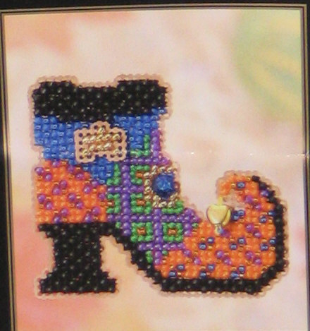 click here to view larger image of Wanda's Boot (button-bead kit)