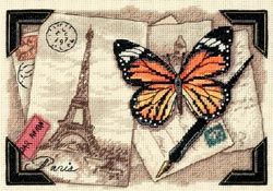 click here to view larger image of Travel Memories (counted cross stitch kit)