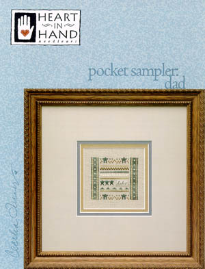 click here to view larger image of Pocket Sampler - Dad (charm not included) (chart)