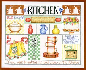 click here to view larger image of My Kitchen (chart)