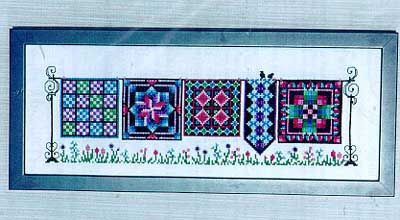 click here to view larger image of Parade of Quilts (chart)