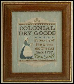 click here to view larger image of Colonial Dry Goods (AmericanaCountry) (chart)