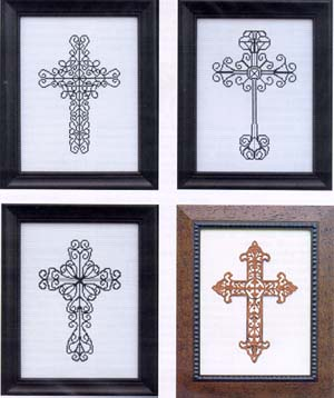click here to view larger image of Traditional Crosses I (chart)