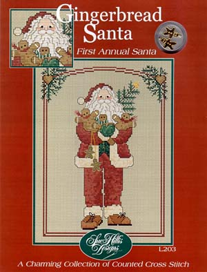 click here to view larger image of Gingerbread Santa (chart)