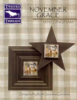 click here to view larger image of Mini Gingham-November Grace (chart)