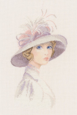 click here to view larger image of Amelia (counted cross stitch kit)