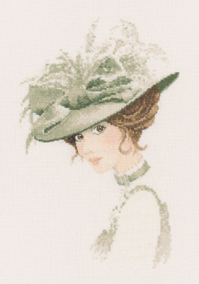 click here to view larger image of Charlotte (counted cross stitch kit)