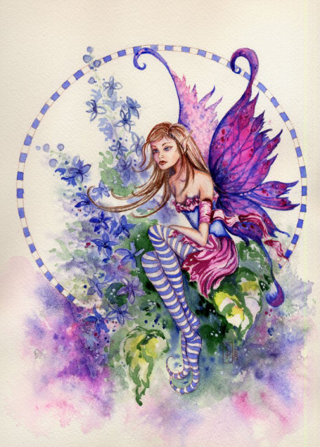 click here to view larger image of Larkspur Fairy (chart)