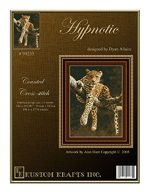 click here to view larger image of Hypnotic Leopard (chart)