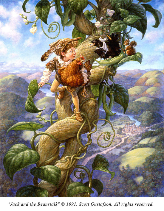 click here to view larger image of Jack and the Beanstalk (chart)