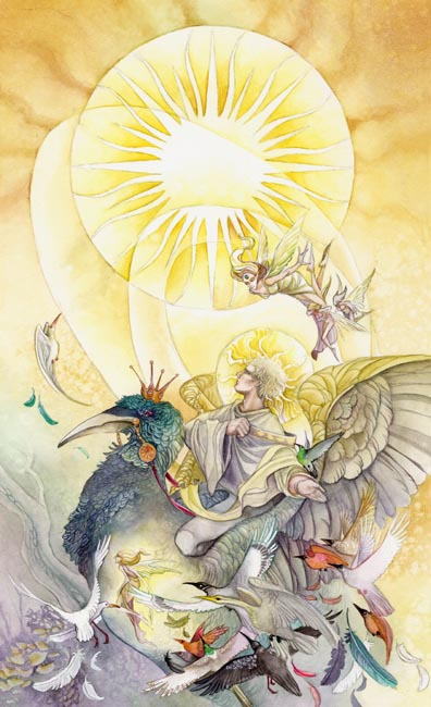 click here to view larger image of Sun - Tarot (chart)