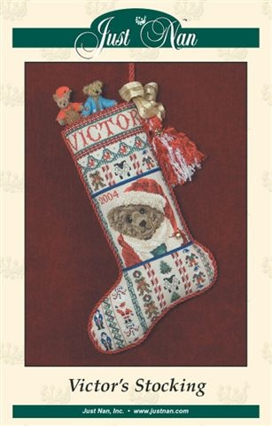 click here to view larger image of Victor's Stocking (chart)