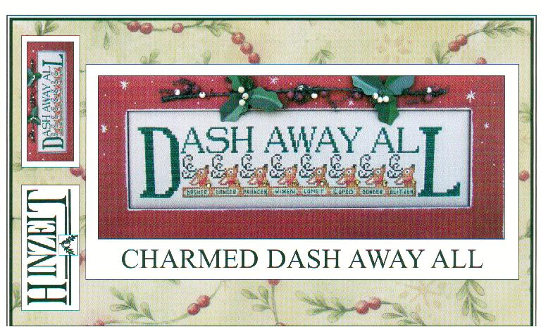 click here to view larger image of Dash Away All (chart with charms/buttons)