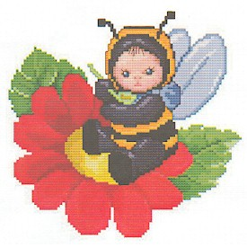 click here to view larger image of Bumblebee Baby (chart)