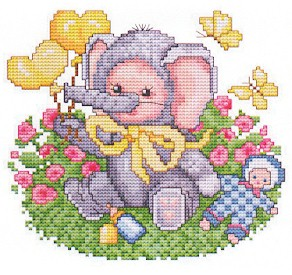 click here to view larger image of Elephant Baby (chart)