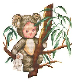 click here to view larger image of Koala Baby (chart)
