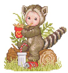 click here to view larger image of Racoon Baby (chart)