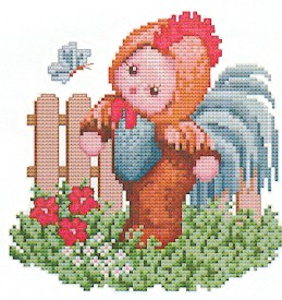 click here to view larger image of Rooster  Baby (chart)