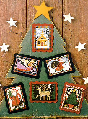 click here to view larger image of Folk Art Christmas (chart)