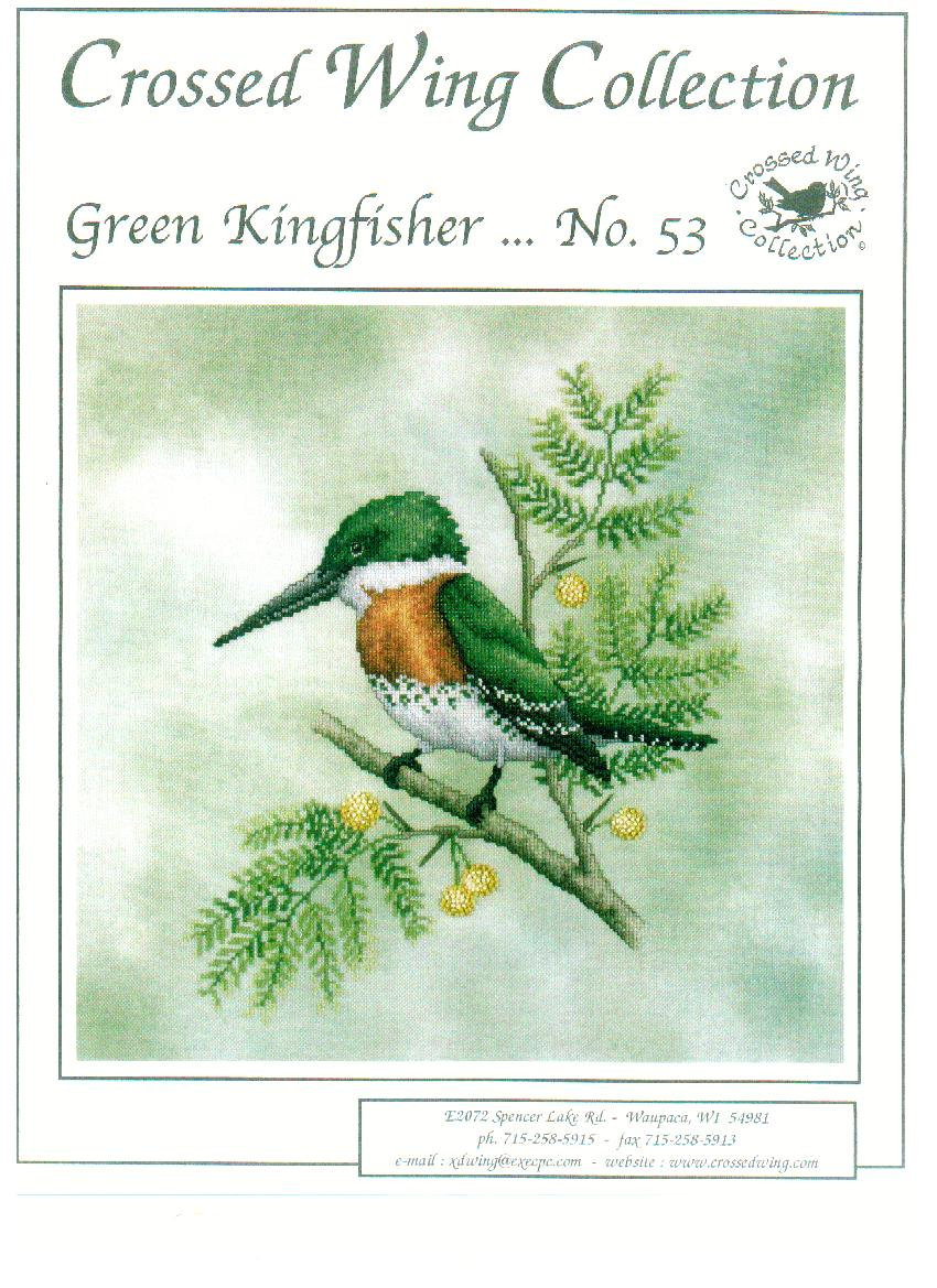 click here to view larger image of Green Kingfisher (chart)