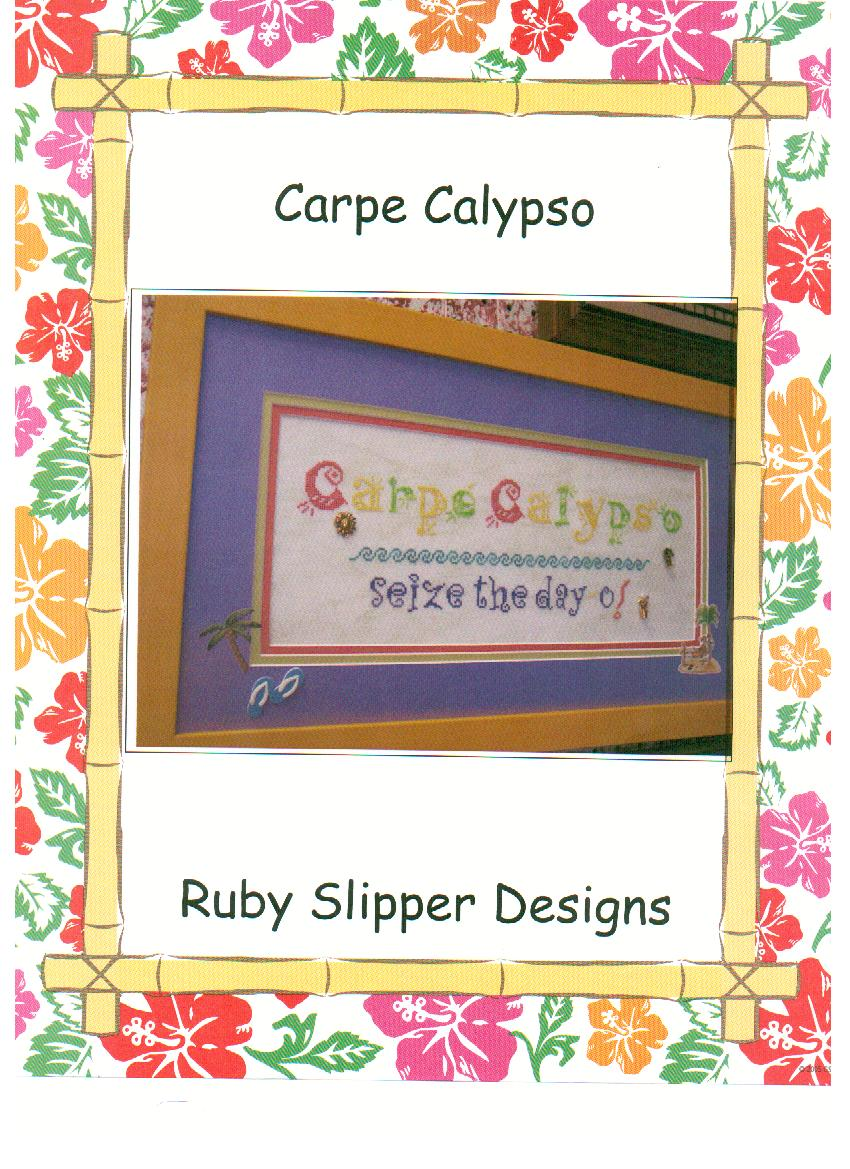 click here to view larger image of Carpe Calypso (with charms) (chart)