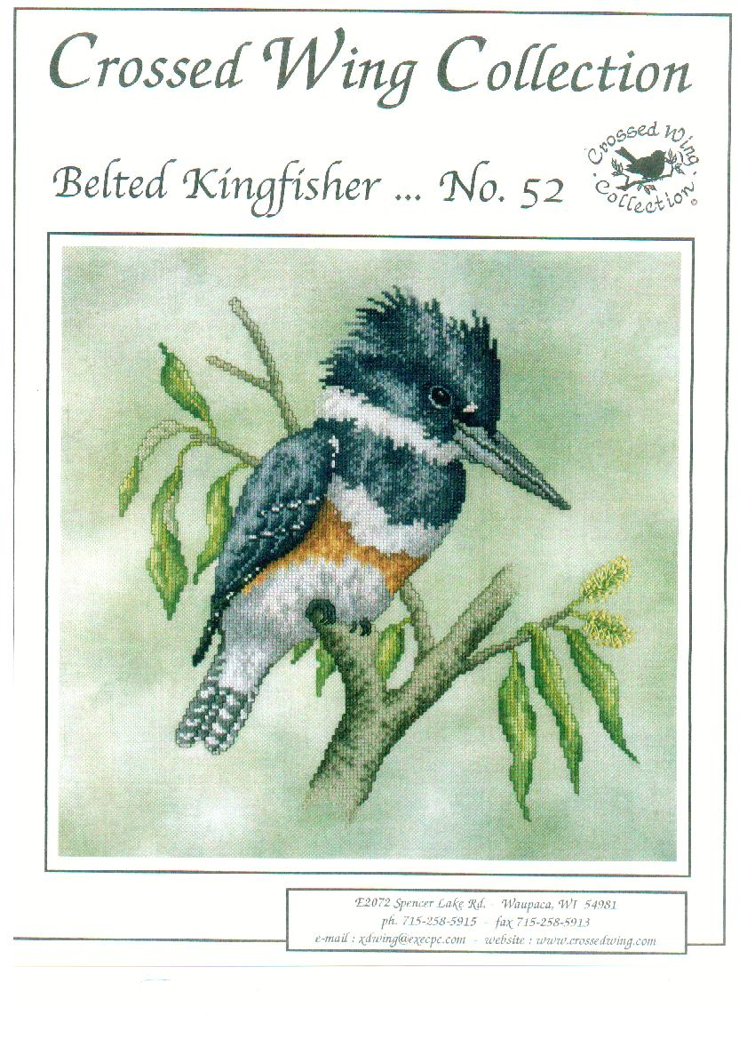 click here to view larger image of Belted Kingfisher (chart)