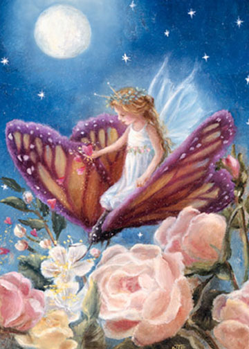 click here to view larger image of Fairy on Butterfly (chart)