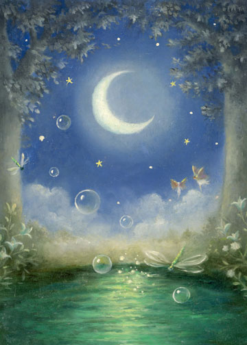 click here to view larger image of Fairy in Moonlight (chart)