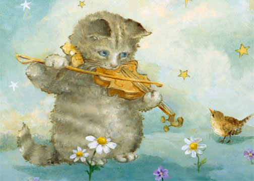 click here to view larger image of Cat and The Fiddle (chart)