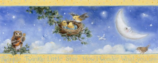 click here to view larger image of Twinkle Twinkle Little Star (chart)