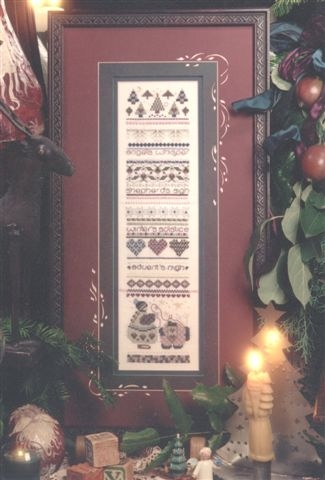click here to view larger image of Wintertide Sampler (counted cross stitch kit)