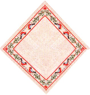 click here to view larger image of Christmas Doily (counted cross stitch kit)