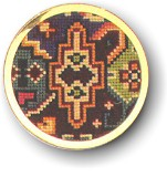 click here to view larger image of Handbag Mirror (counted cross stitch kit)