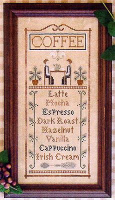click here to view larger image of Coffee Menu (chart)