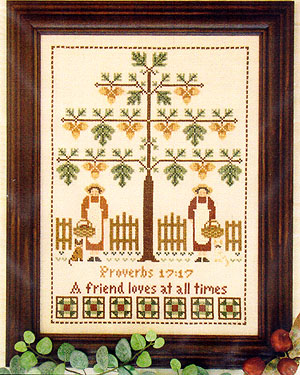 click here to view larger image of Friendship Tree (chart)